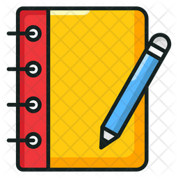 Writing Notebook Icon