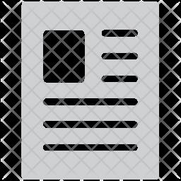 Writing pad Icon