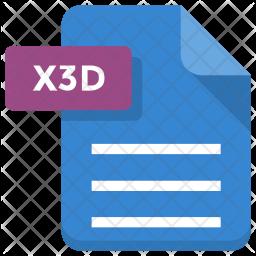 X3d file Icon