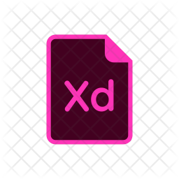 Xd File Icon Of Colored Outline Style Available In Svg Png Eps Ai Icon Fonts