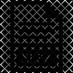 Xlsx file Icon