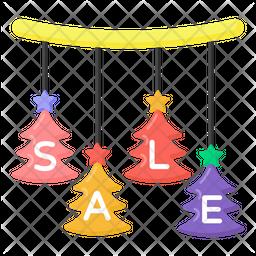 Xmas Sale Flat Icon