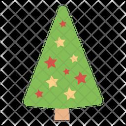 Christmas Tree Icons.Xmas Tree Icon