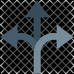 Y Intersection Icon