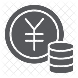 Yen Icon Of Glyph Style Available In Svg Png Eps Ai Icon Fonts