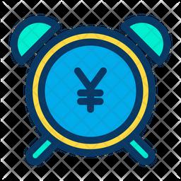 Yen Alarm Icon