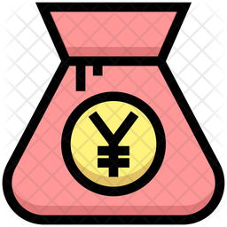 Yen Bag Icon Of Colored Outline Style Available In Svg Png Eps Ai Icon Fonts