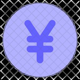 Yen-coin Icon