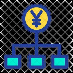 Yen Flow Icon
