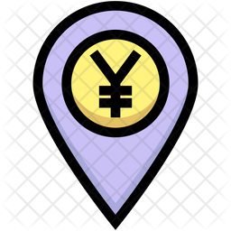 Yen Location Icon