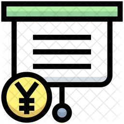 Yen Presentation Icon