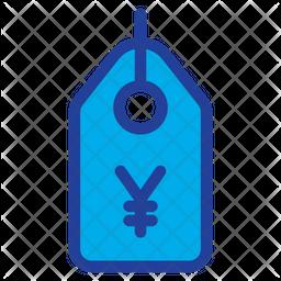 Yen Tag Icon