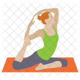 Yoga Icon Of Flat Style Available In Svg Png Eps Ai Icon Fonts
