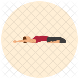 Yoga pose Icon