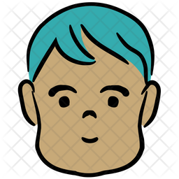Young Boy Icon Of Colored Outline Style Available In Svg Png Eps Ai Icon Fonts