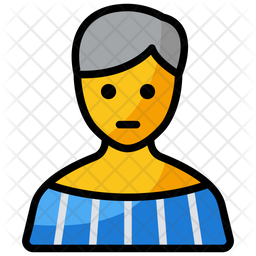 Young Girl Emoji Icon