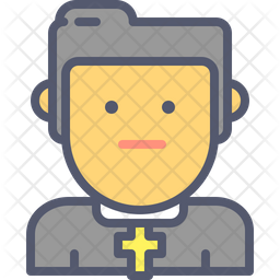 Young priest Icon