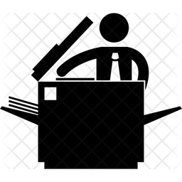 Zerox machine Icon
