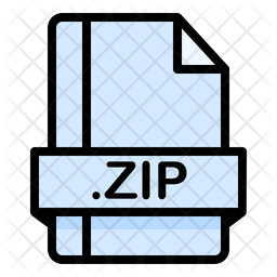 Zip Icon Of Colored Outline Style Available In Svg Png Eps Ai Icon Fonts