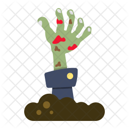 Zombie Hand Icon Of Flat Style Available In Svg Png Eps Ai Icon Fonts Zombie drawing cartoon illustration, cute zombie, purple, comics png. zombie hand icon