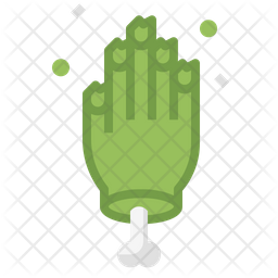 Zombie Hand Icon