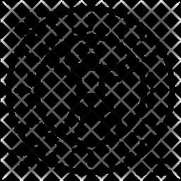 Zorbing Line Icon