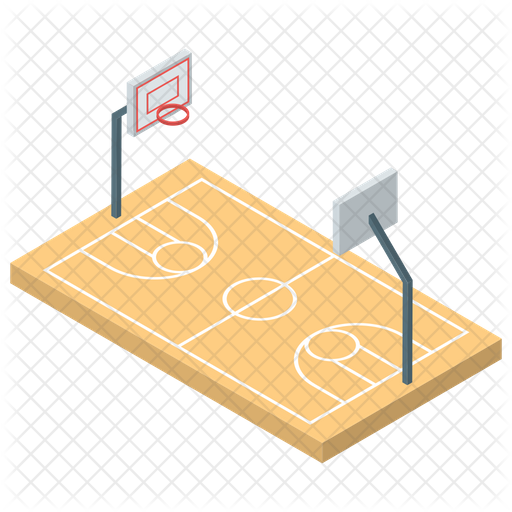 Basketball Court Icon Of Isometric Style Available In Svg Png Eps Ai Icon Fonts