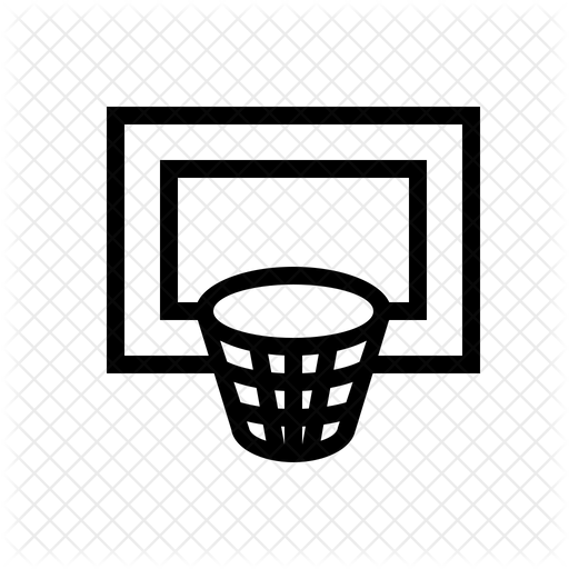 Basketball Hoop Icon Of Line Style Available In Svg Png Eps Ai Icon Fonts
