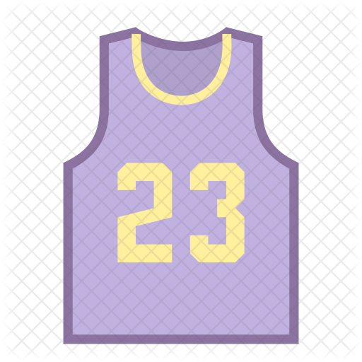 Basketball Jersey Icon Of Colored Outline Style Available In Svg Png Eps Ai Icon Fonts