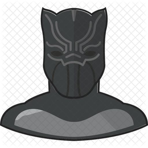 Black Panther Icon Of Flat Style Available In Svg Png Eps Ai Icon Fonts