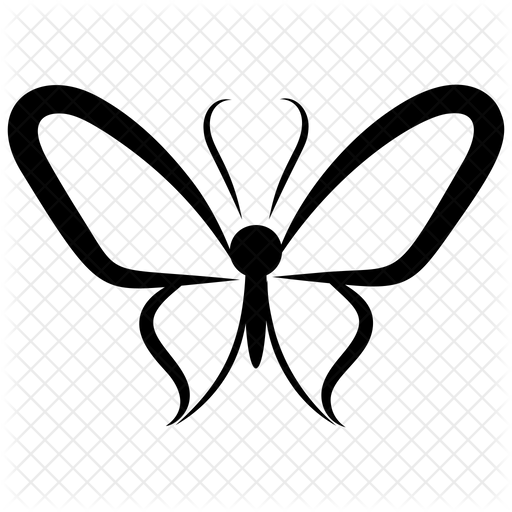 Butterfly Sketch Icon Of Glyph Style Available In Svg Png Eps Ai Icon Fonts