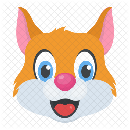 Cartoon Cat Face Icon Of Flat Style Available In Svg Png Eps
