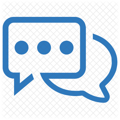 Chat Logo Icon Of Flat Style Available In Svg Png Eps Ai Icon Fonts