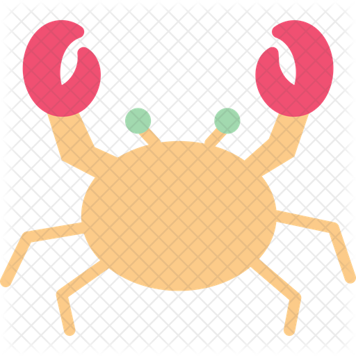 Crab Icon Of Flat Style Available In Svg Png Eps Ai Icon Fonts