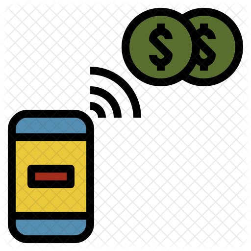 e money icon of colored outline style available in svg png eps ai icon fonts e money icon