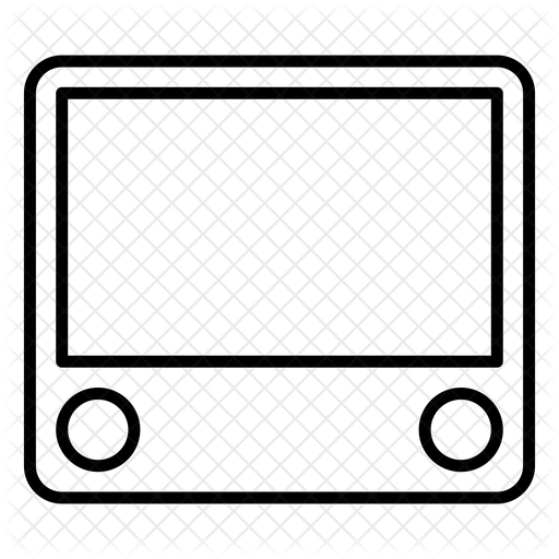 Etch A Sketch Icon Of Line Style Available In Svg Png Eps Ai Icon Fonts