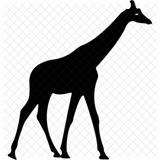 Giraffe Icon Of Glyph Style Available In Svg Png Eps Ai Icon Fonts
