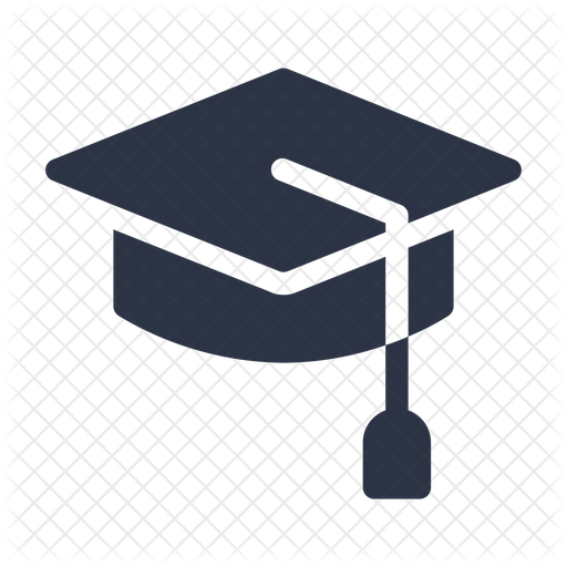 Graduation Hat Icon Of Glyph Style Available In Svg Png Eps Ai Icon Fonts