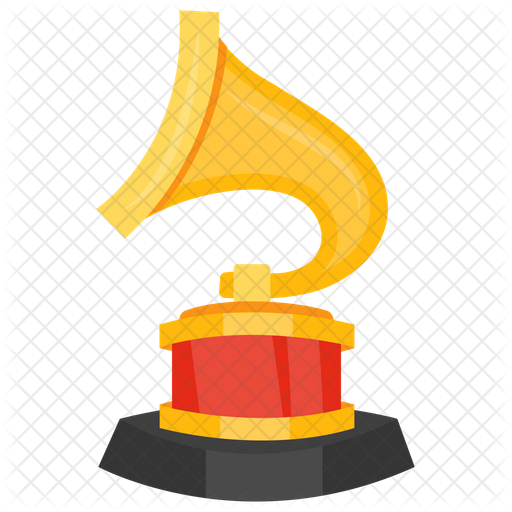 grammy award icon of flat style available in svg png eps ai icon fonts grammy award icon
