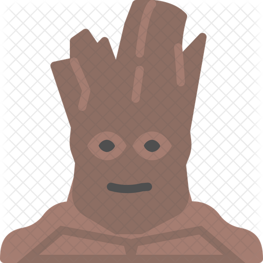 Groot Icon Of Flat Style Available In Svg Png Eps Ai Icon Fonts