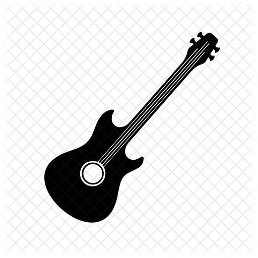 Guitar Icon Of Glyph Style Available In Svg Png Eps Ai Icon Fonts