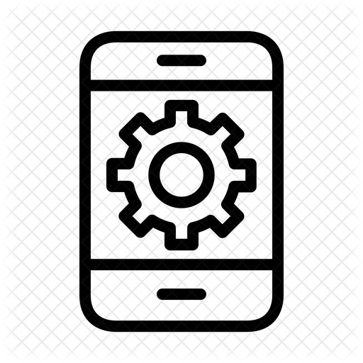 Blue Circleicon Transparent: Circle Handphone Icon Png