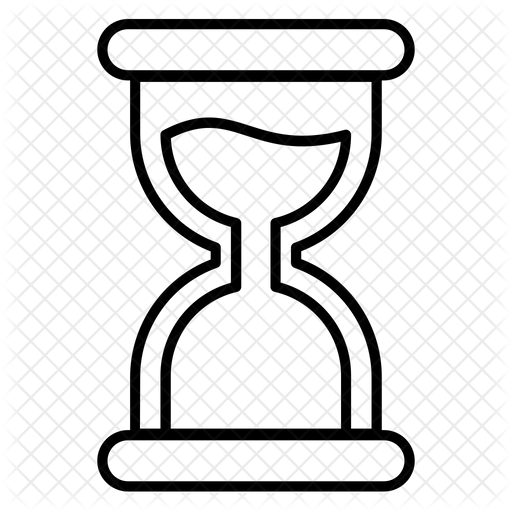 Hourglass Icon Of Line Style Available In Svg Png Eps Ai Icon Fonts