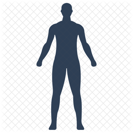 Human Body Icon Of Colored Outline Style Available In Svg Png Eps Ai Icon Fonts Check out our human body icon selection for the very best in unique or custom, handmade pieces from our learning magical, meaningful items you can't find anywhere else. human body icon