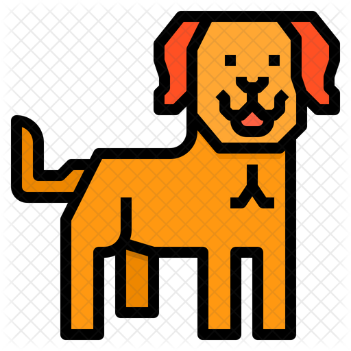 Labrador Dog Icon Of Colored Outline Style Available In Svg Png Eps Ai Icon Fonts