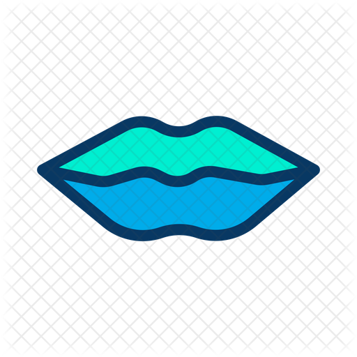 Lips Icon Of Colored Outline Style Available In Svg Png Eps Ai Icon Fonts