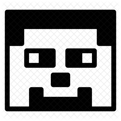 Minecraft Character Icon Of Glyph Style Available In Svg Png Eps Ai Icon Fonts