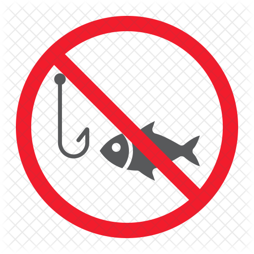 Download Free No Fishing Icon Of Flat Style Available In Svg Png Eps Ai Icon Fonts