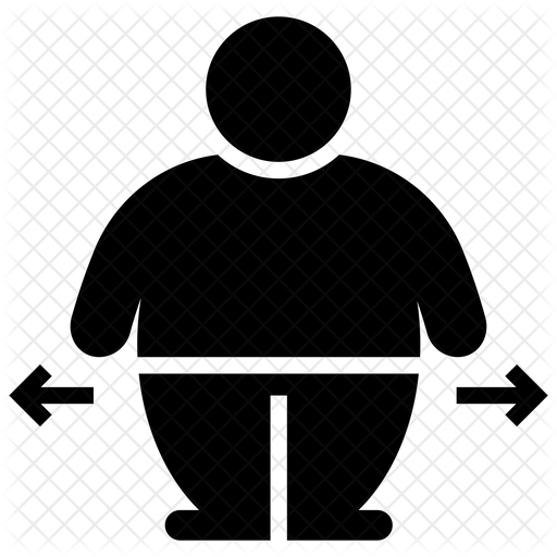 Obesity Icon Of Glyph Style Available In Svg Png Eps Ai Icon Fonts