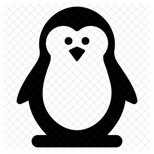 Penguin Icon Of Glyph Style Available In Svg Png Eps Ai Icon Fonts